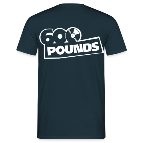 600 Pounds Logo Schwarz - Männer T-Shirt