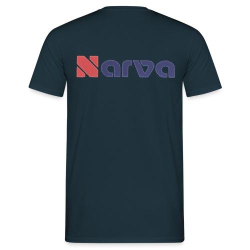 NARVA Schriftzug transparent png - Männer T-Shirt