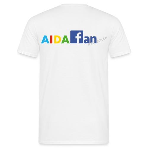 AIDA fan on tour - Männer T-Shirt