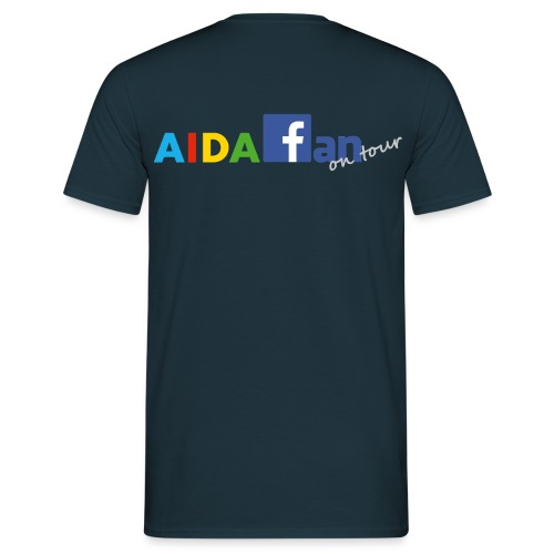 AIDA fan on tour - Männer T-Shirt