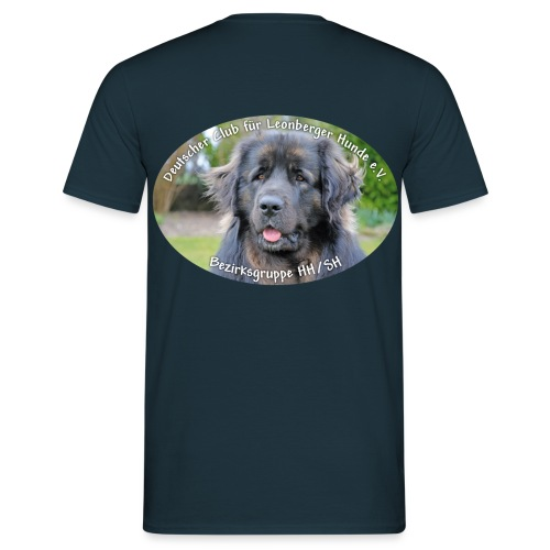Leonberger BG Logo oval - Männer T-Shirt