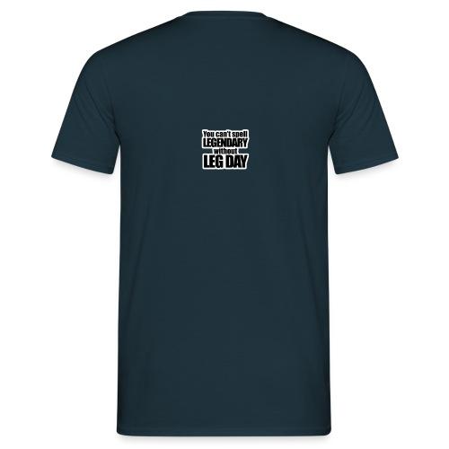 LEG DAY - T-shirt herr