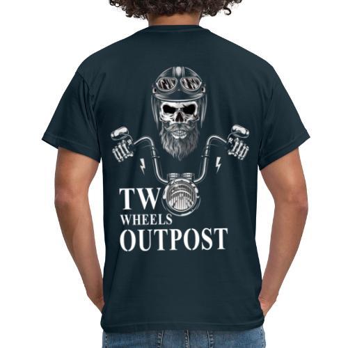 Two Wheels Outpost - Camiseta hombre