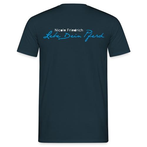 Logo_LebedeinPferd_ - Männer T-Shirt