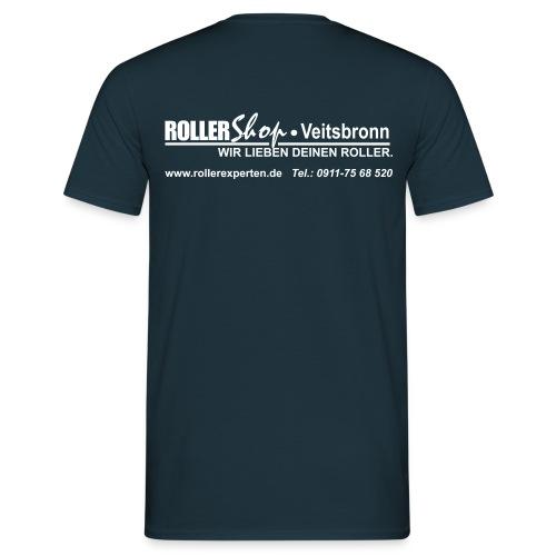 wir lieben deinen roller logo - Männer T-Shirt