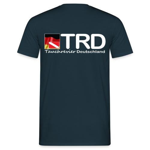 Tauchrevier Deutschland TRD newStyle - Männer T-Shirt