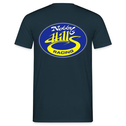 nobbyhillsracinglogo - Men's T-Shirt