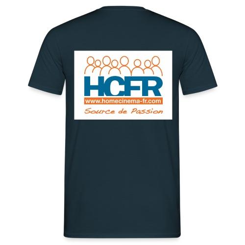 logo hcfr blanc 400 - T-shirt Homme
