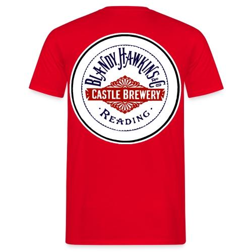 Blandy & Hawkins' Castle Brewery Reading - Men's T-Shirt