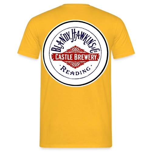 Blandy & Hawkins' Castle Brewery Reading - Men's T-Shirt