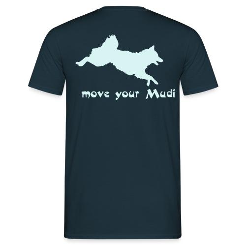 move your mudi - Men's T-Shirt