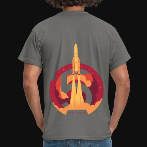 Ariane 5 - Lift off By Fugstrator - Men's T-Shirt