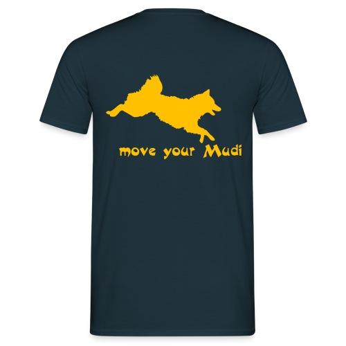 moyomu orange - Men's T-Shirt