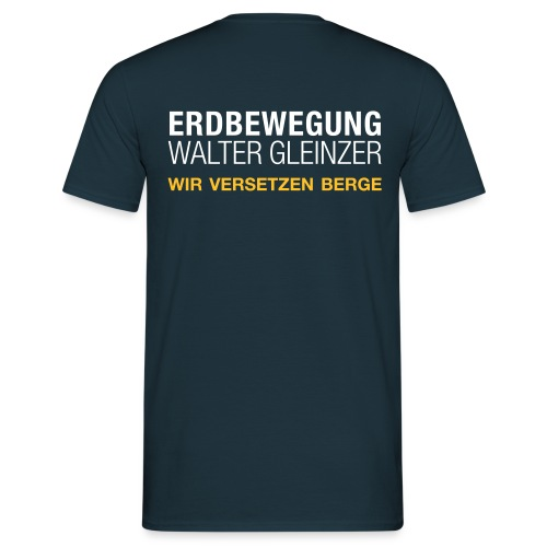 Walter Gleinzer - Männer T-Shirt