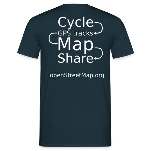 Ben's OSM hoodie - Men's T-Shirt