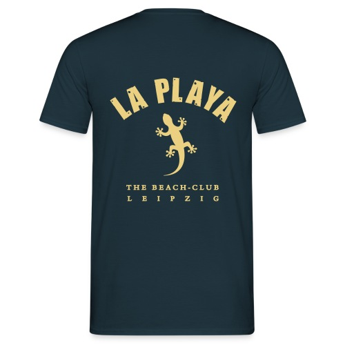 LA PLAYA Gecko backprint Strand Shop - Männer T-Shirt
