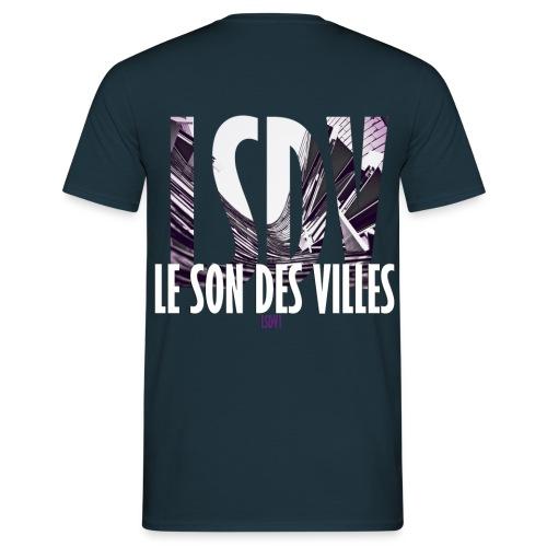 Le Son Des Villes : Ondes - T-shirt Homme