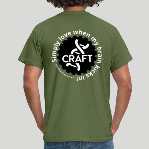 Simply love when my brain kicks in! - Herre-T-shirt