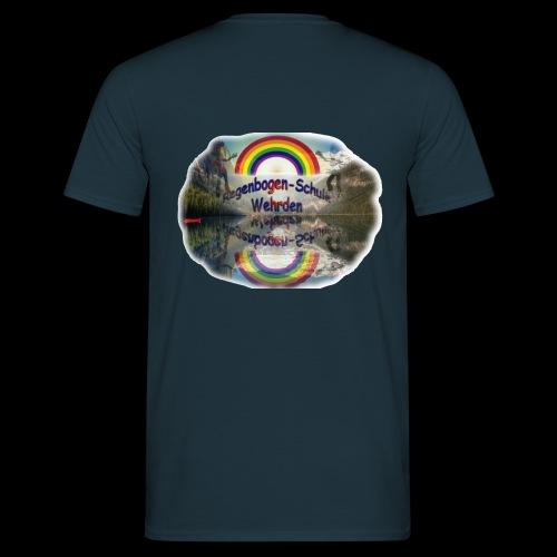 Regenbogen Schule - Männer T-Shirt