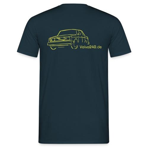 volvo240 de - Männer T-Shirt