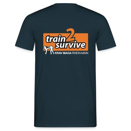 t2s Nebenlogo Krav Maga w - Männer T-Shirt