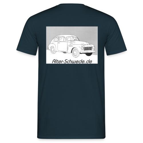 Buckelvolvo Alter Schwede - Männer T-Shirt