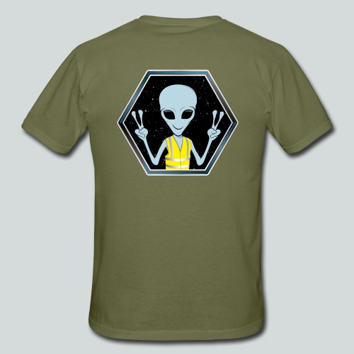 Extraterrestre Gilet jaune - T-shirt Homme