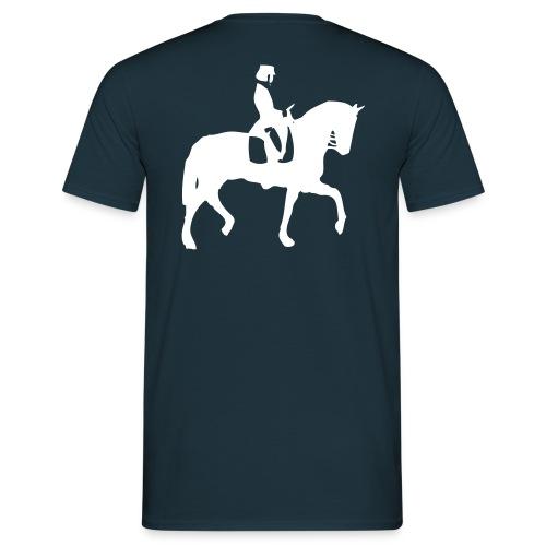 dressurreiter pferd - Männer T-Shirt