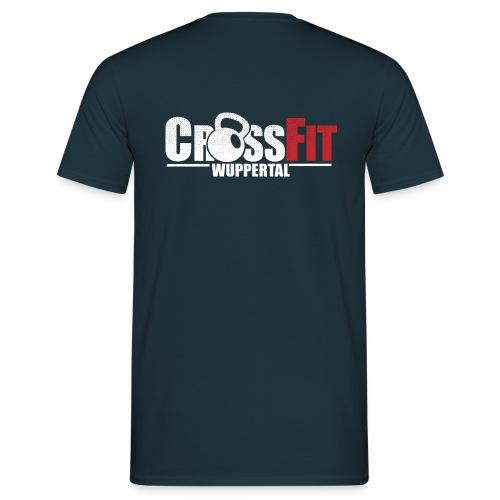 crossfitwuppertalwhitefrei2 - Männer T-Shirt