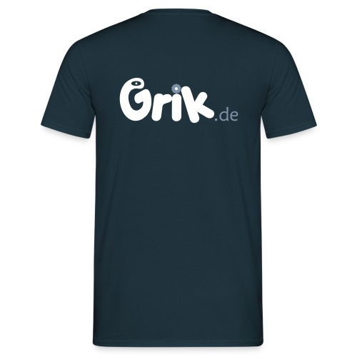 grik neu13a 5 shirtdruck smaller 2 - Männer T-Shirt