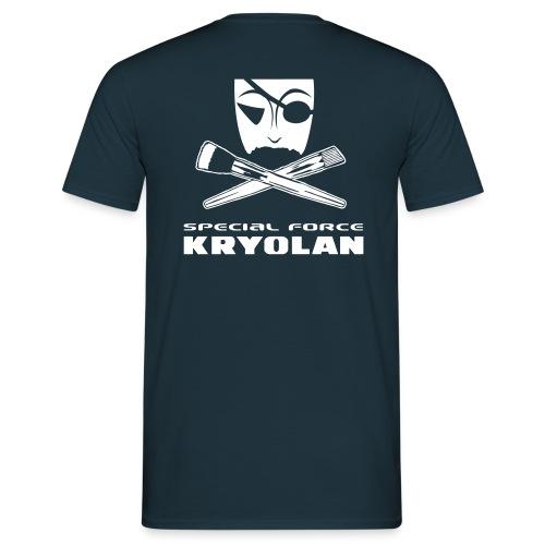 skull brushes - Männer T-Shirt
