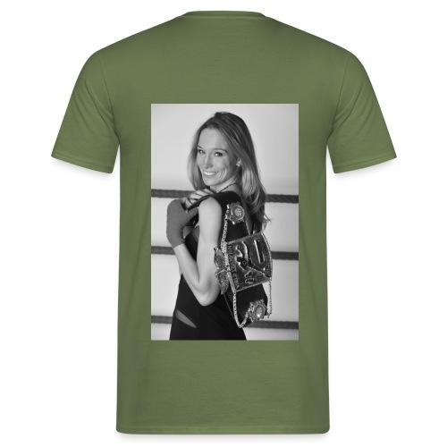 Unterstützungs-T-Shirt Christine Theiss, Männer - Männer T-Shirt