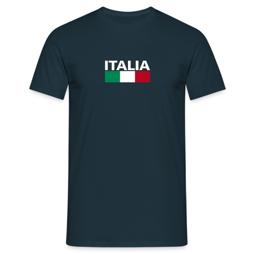 Italia Italy flag - Men's T-Shirt