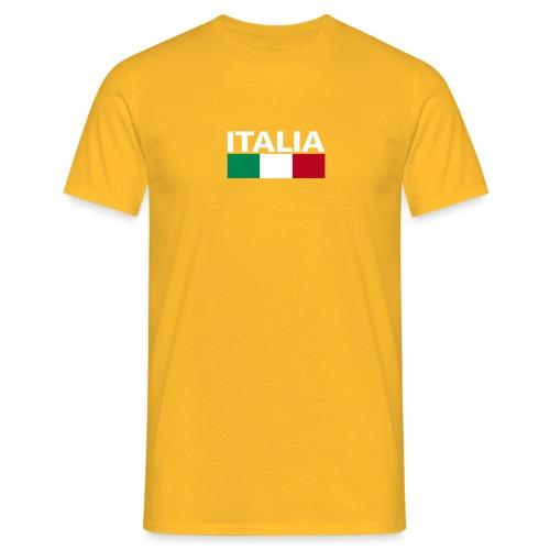 Italia Italy flag - Men's T-Shirt