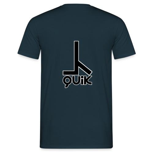Quik Logo2 - Männer T-Shirt