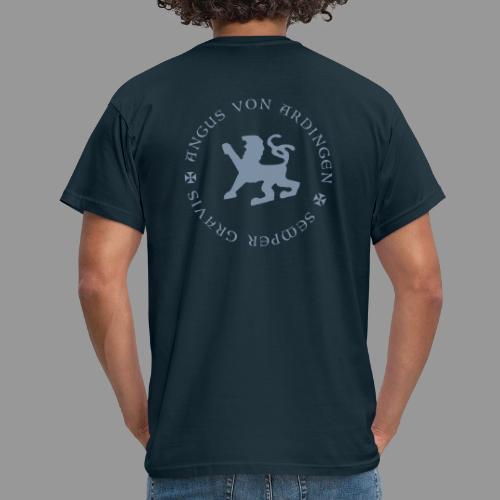 angus von ardingen semper gravis - Männer T-Shirt