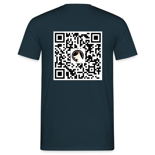 qrcodegroß - Männer T-Shirt