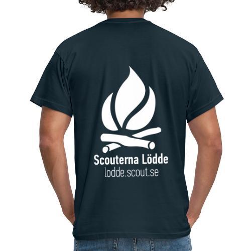 Lödde Tryck Logo (Blå) - T-shirt herr