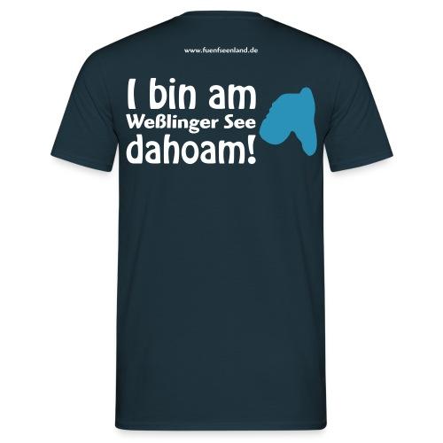 WES dahoam vektor - Männer T-Shirt