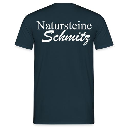 natursteineschmitz - Männer T-Shirt