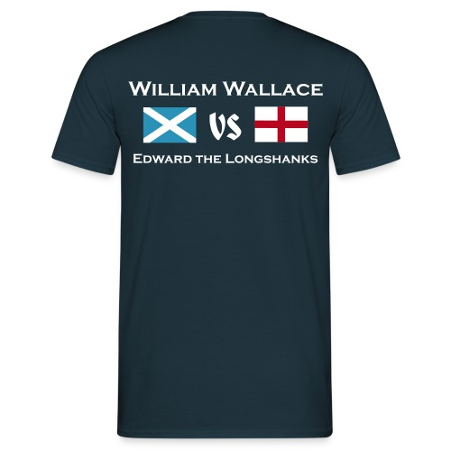 William vs Edward M - Männer T-Shirt