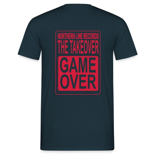 LARGE GAME OVER - Men's T-Shirt