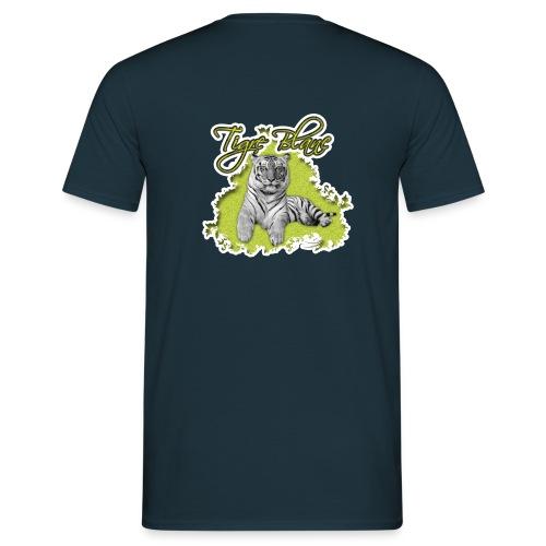 tigre blanc - T-shirt Homme