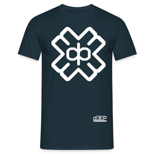 d3eplogowhite - Men's T-Shirt