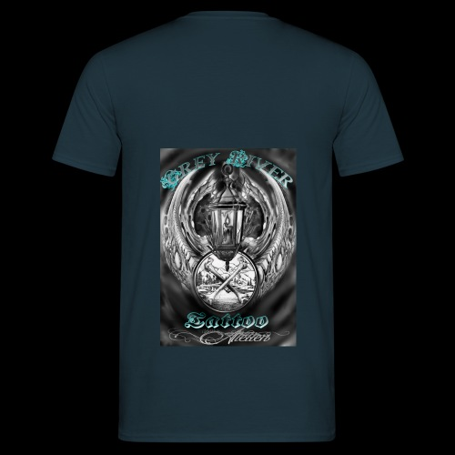 GreyRiverTattoo - Männer T-Shirt