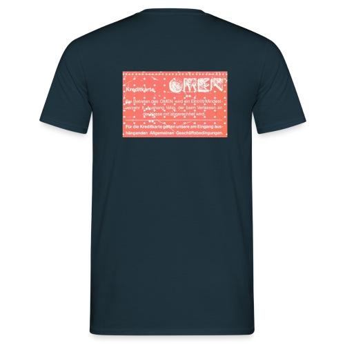 omen karte - Männer T-Shirt