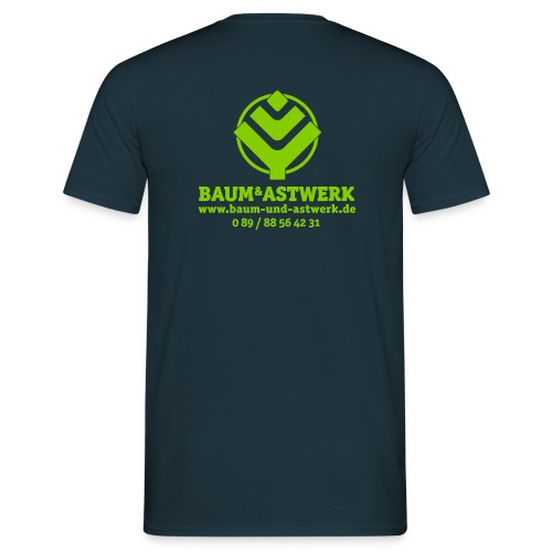 BaumAstwerkAdress multicolor 01 02 eps - Männer T-Shirt