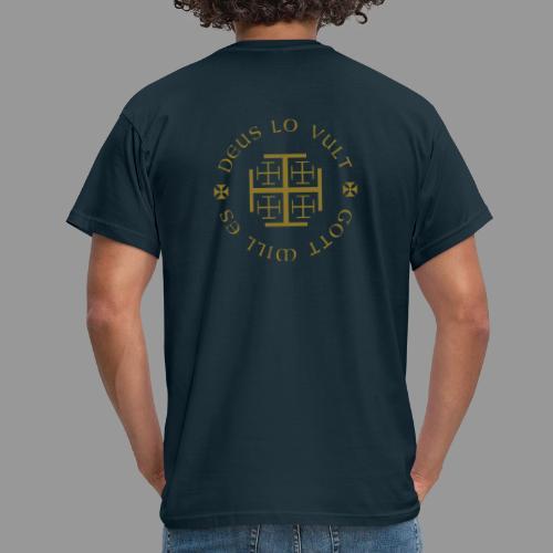 deus lo vult - Gott will es - Männer T-Shirt