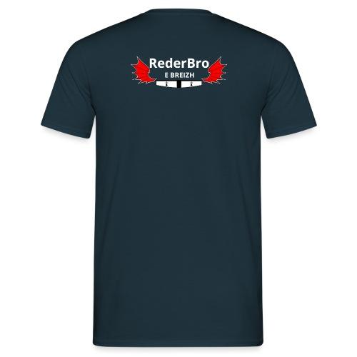 Impression verso - T-shirt Homme
