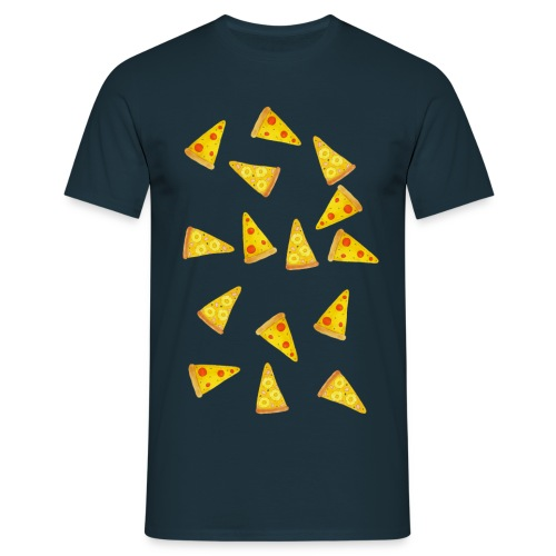 Pizza is Bae - Männer T-Shirt